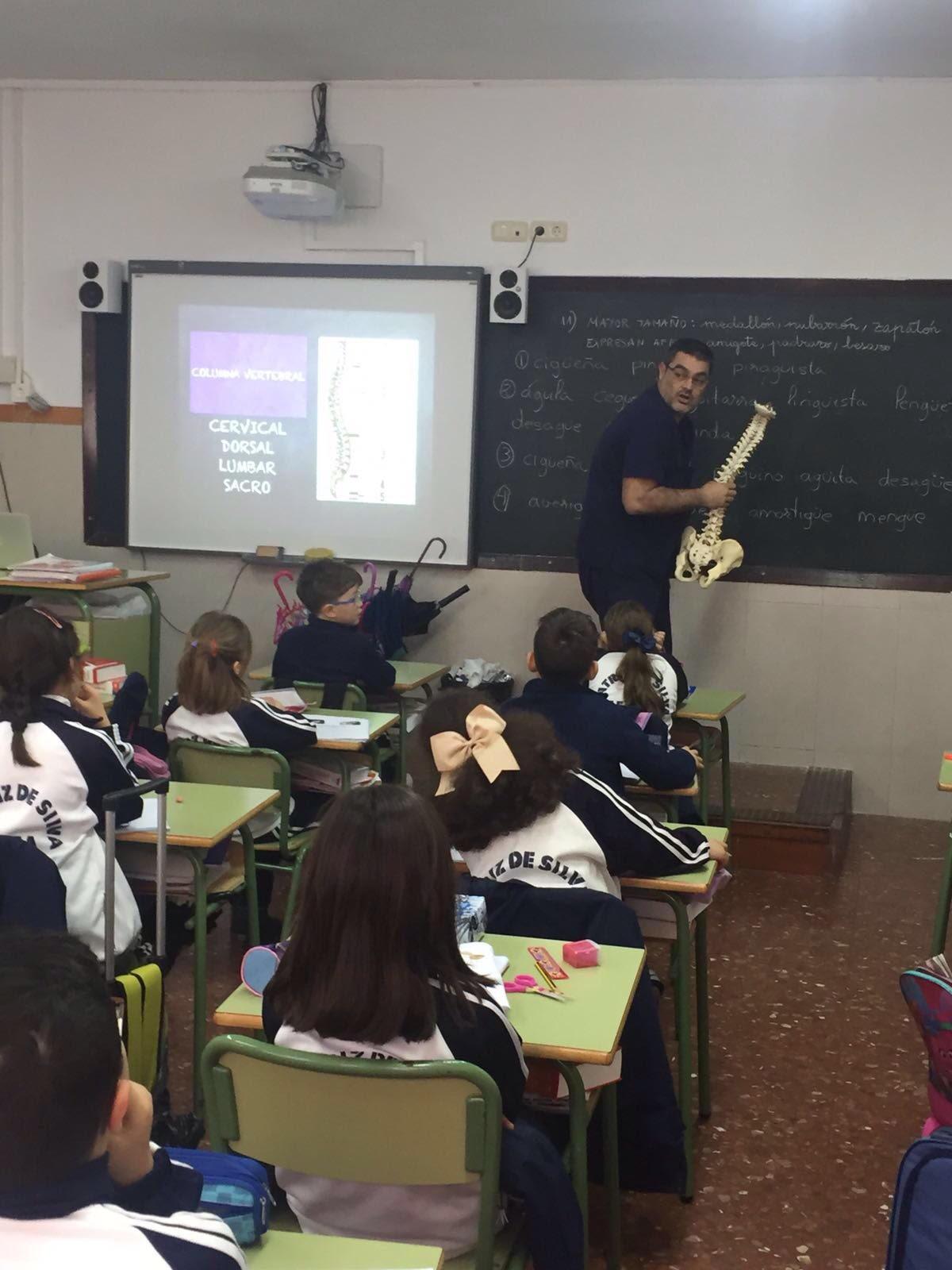 Escuela De Espalda Y Obesidad Infantil De La Mano De Profesionales Del Ingesa A Alumnos Del Colegio Beatriz De Silva área Sanitaria De Ceuta